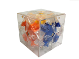 Bandaged 3x3 Stickerless (embedded by 2x2 Clear Body Cube, Limited Edition)