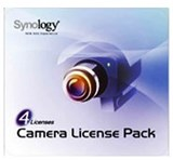 Synology 4個攝影機授權 (4 Cameras license pack)