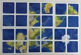 EARTH Stickers Set for 2x2x2 Cube
