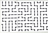 5x5x5 PVC White-Base Maze Stickers Set