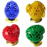 Gear Egg Full set (Red, Yellow, Green, Blue)