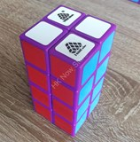 1688Cube 2x2x4 II Cuboid (center-shifted) Purple Body