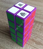 1688Cube 2x2x5 Cuboid Purple Body