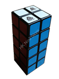 1688Cube 2x2x5 Cuboid Black Body