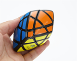 DDR Pillowed 3x3x3 Rhombohedron Black Body