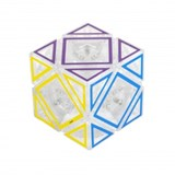 HOLLOW Skewb Cube Clear