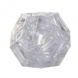 Hollow Skewb Ultimate Clear (stickerless)