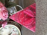 Circle Pyramorphix Clear Pink Body