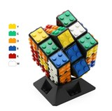 Wange Building Block Cube with DIY tiles kit