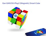 Gan GAN356 iPlay2 3x3x3 (Magnetic) Stickerless Smart Cube with APP (Robot not Included)
