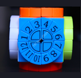 LeFun Time Machine Cube with Numbers Stickerless