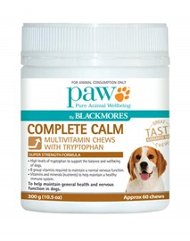 PAW Complete Calm 300g (60 chews)